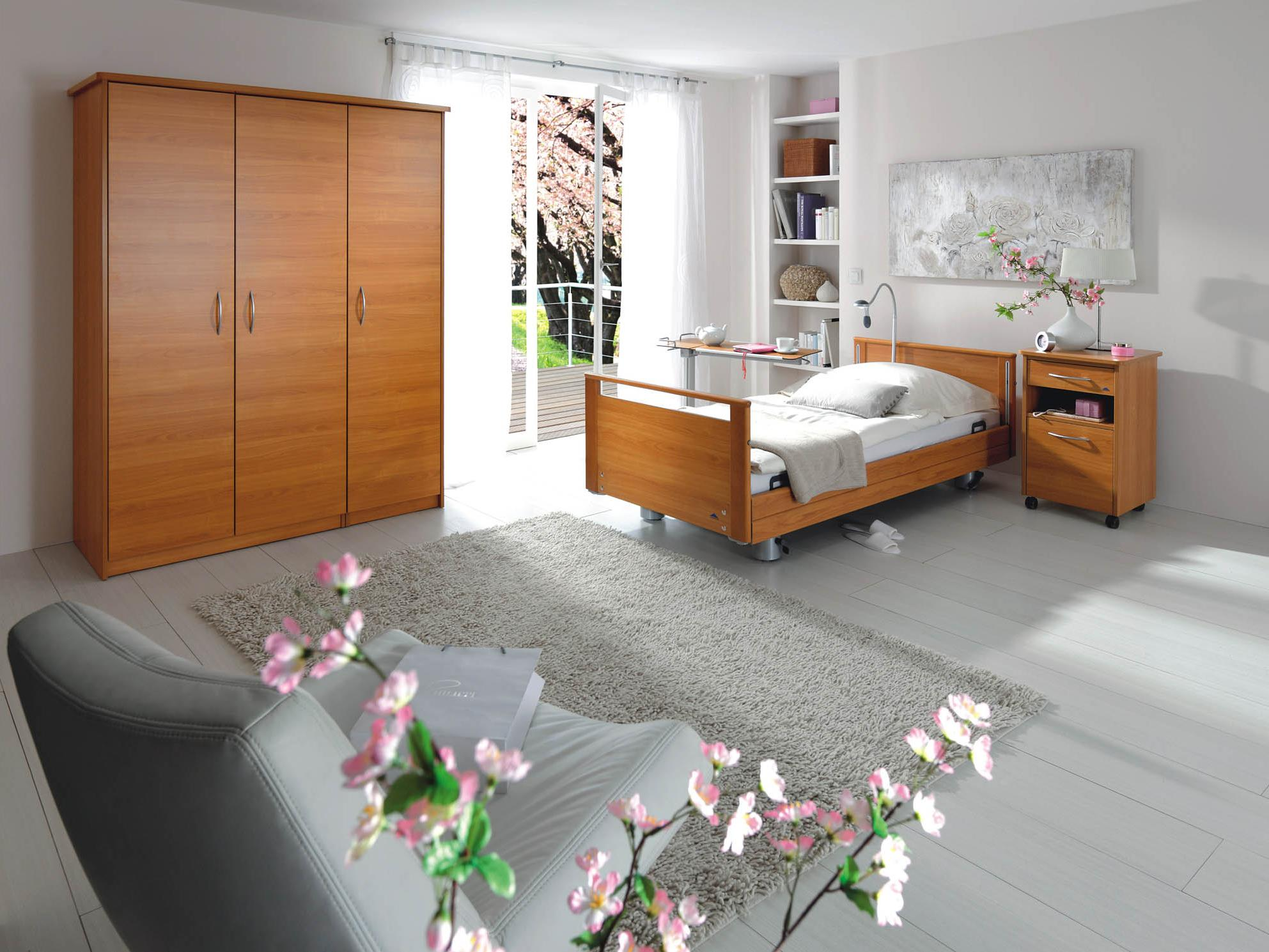 Homelike ambience with beds from the Elvido range