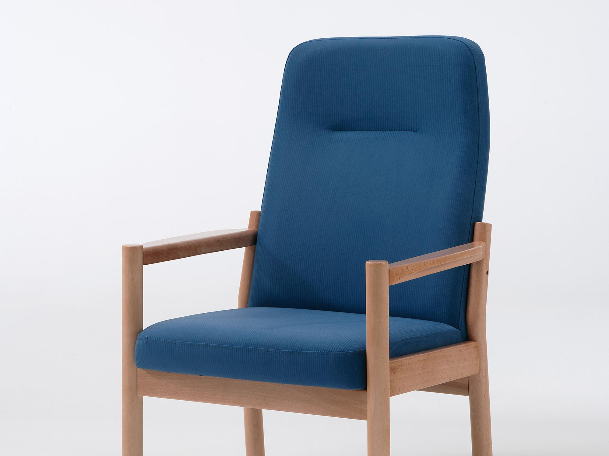 The Primo model as a high-back easy chair