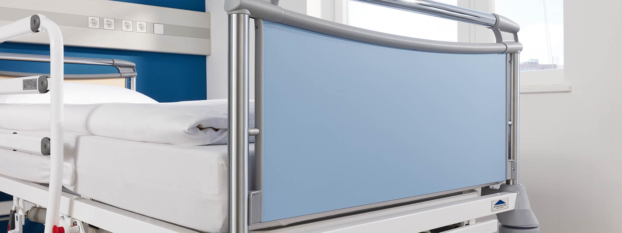 Valero head and footboard of the Deka hospital bed