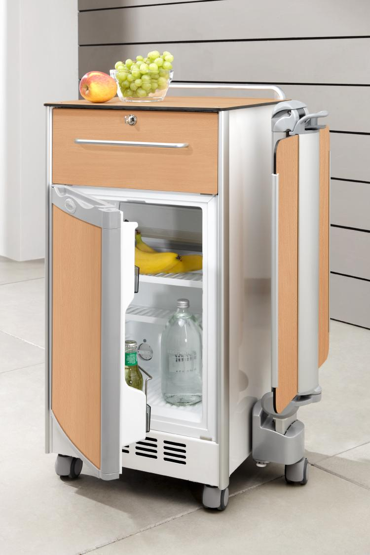 Optional fridge for the Somero bedside cabinet