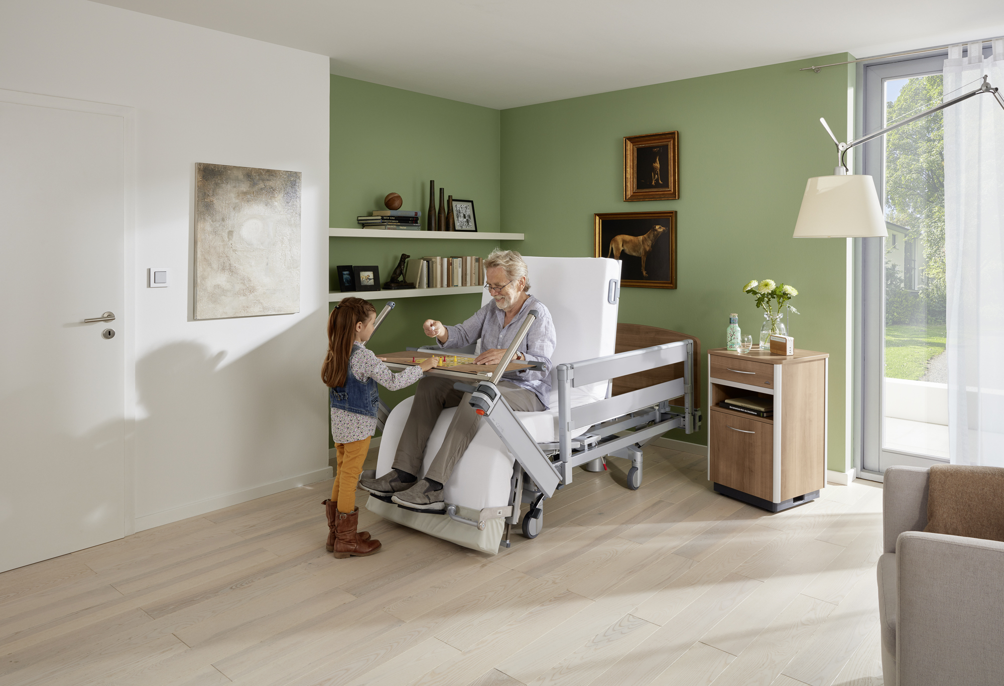 Living independently each day in the Vertica care mobilisation bed